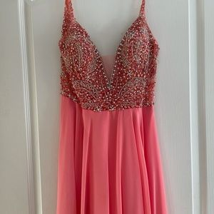 JVN size 6 beaded top prom dress